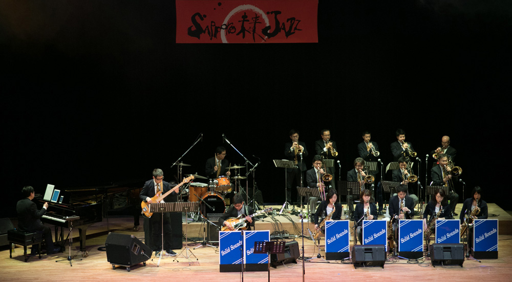 4/20(sat) 19:25- Solid Sounds Jazz Orchestra