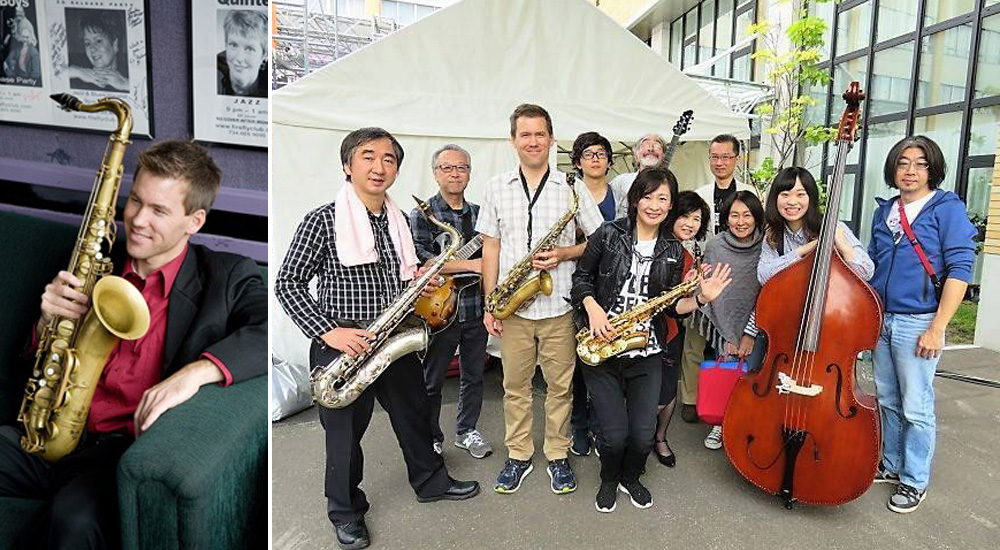 4/28(sun) 13:00- Ben Jansson & Sapporo Jazz Workshop